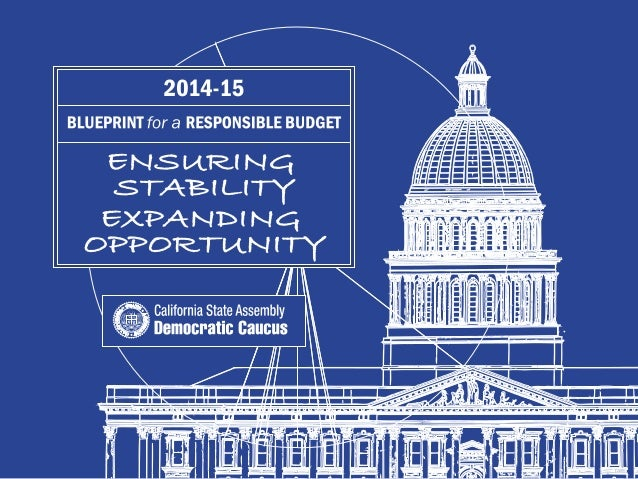 2014-15 Budget Blueprint  Part I: Introduction  2