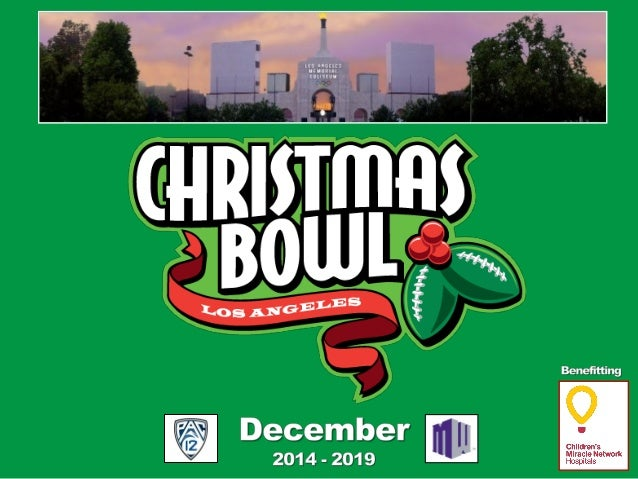 A Brand New Bowl Game! The Christmas Bowl® is a newly proposed post-season college football bowl game, located in Los Ange...