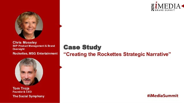 "Chris Moseley SVP Product Management & Brand Oversight  Case Study  Rockettes, MSG Entertainment  ""Creating the Rockettes ..."