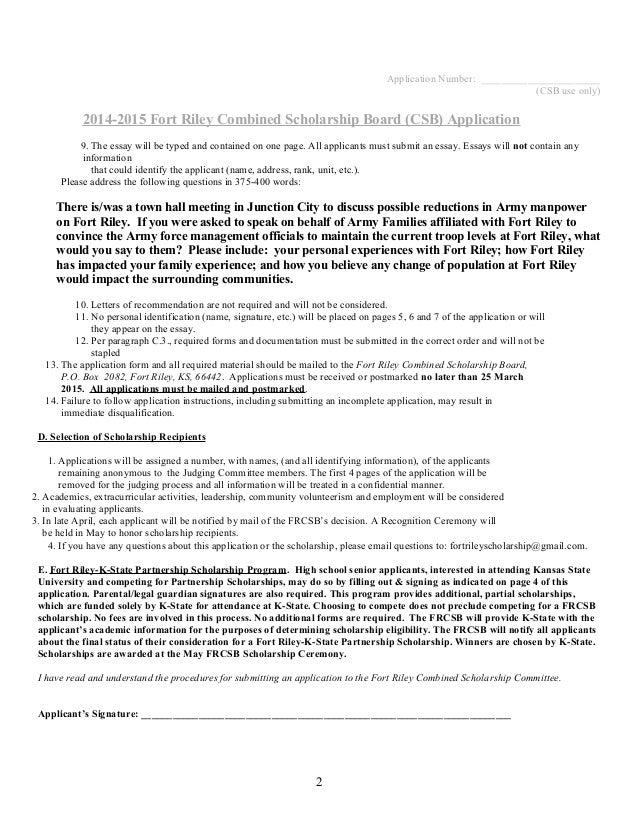 Essay College Scholarships 2015
