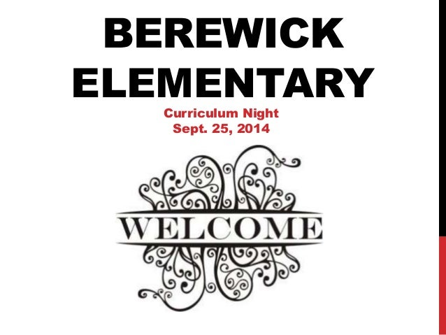 2014 2015 curriculum night presentation