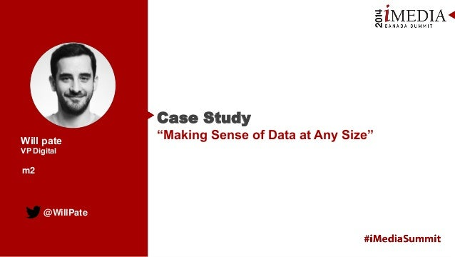 "Case Study: ""Making Sense of Data at Any Size"""