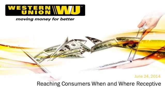 """Reaching Consumers When & Where Receptive"""