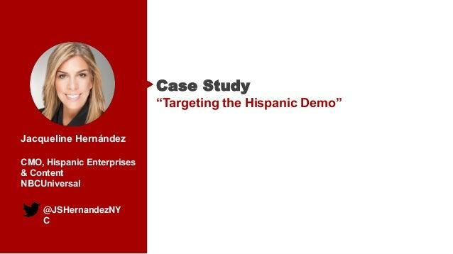 "Case Study: ""Targeting the Hispanic Demo"""