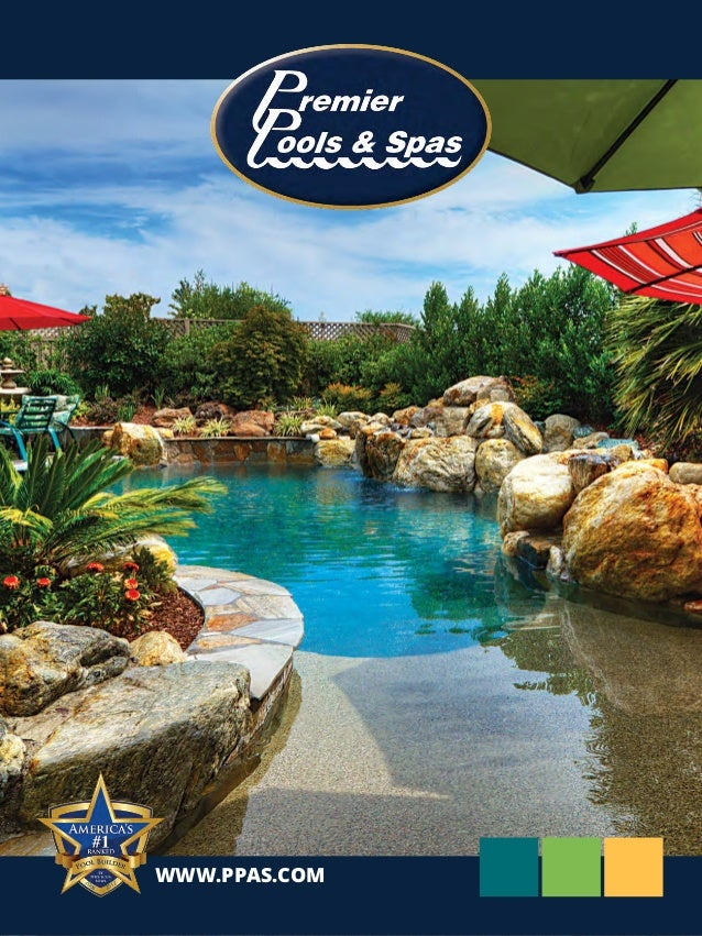 Premier pools spas 2014 brochure for Premier pools