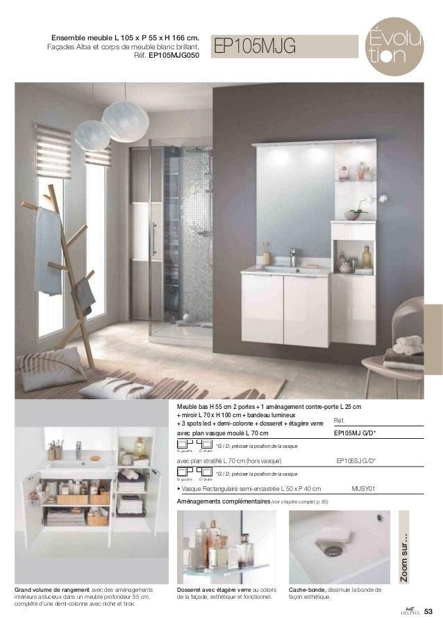 Catalogue 2014 meubles de salle de bains Delphy de Delpha -> Catalogue De Meuble
