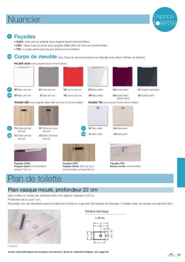Catalogue 2014 meubles de salle de bains Delphy de Delpha -> Catalogue Des Meubles