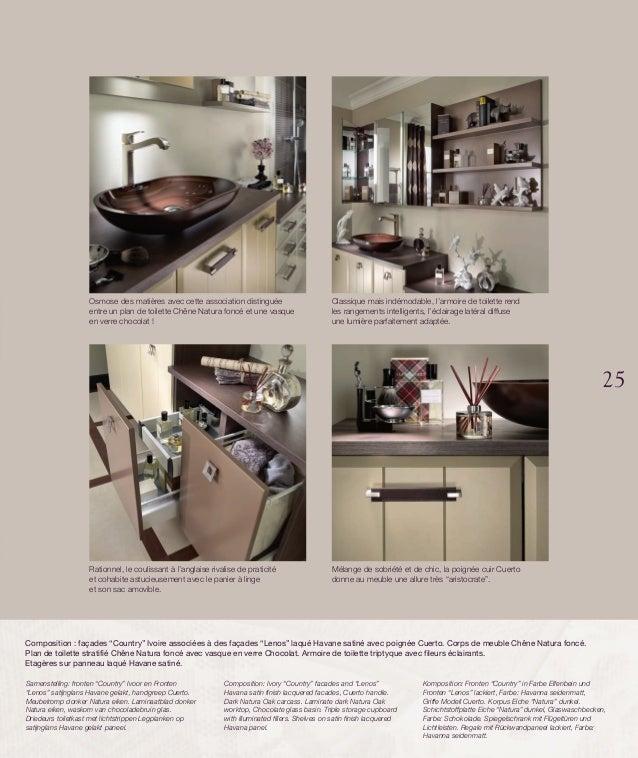 Catalogue meubles de salle de bains Empreinte (2014) -> Catalogue De Meuble