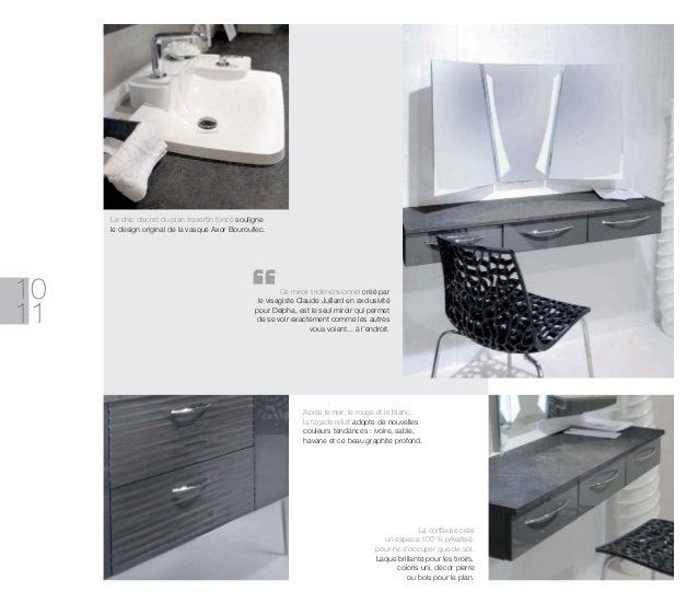 Catalogue meubles de salle de bains modernes influences d 39 aujourd 39 hui - Driedimensionale spiegel ...