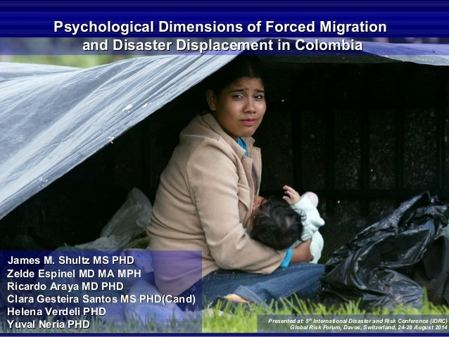 2014 IDRC DAVOS PSYCH DIMENSIONS OF DISPLACEMENT COLOMBIA