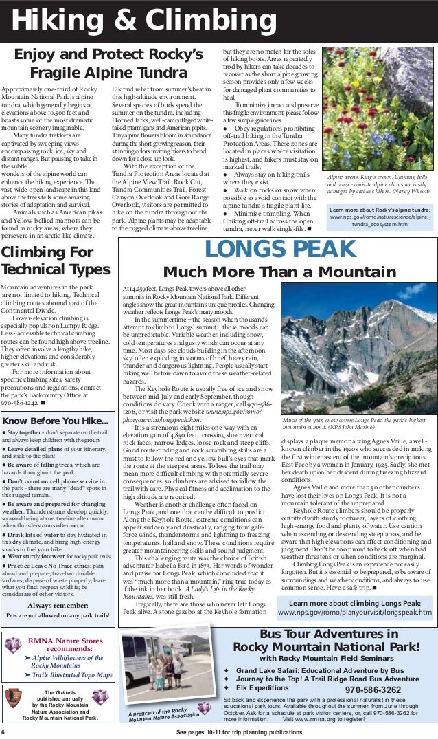 Rocky Mountain National Park Rmnp Complete Guide Autos Post