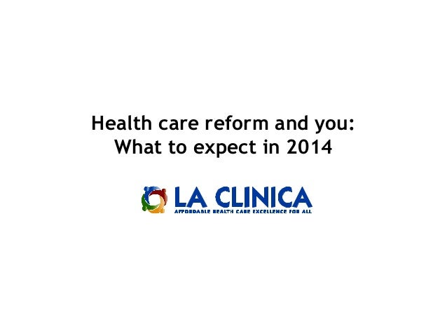 Health care reform and you: What to expect in 2014
