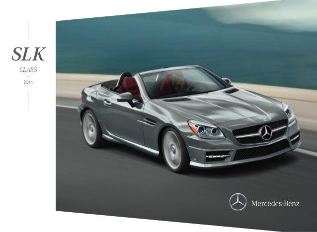 Mercedes-Benz Dealer Serving Orange County | 2014 Mercedes-Benz SLK-Class In CA