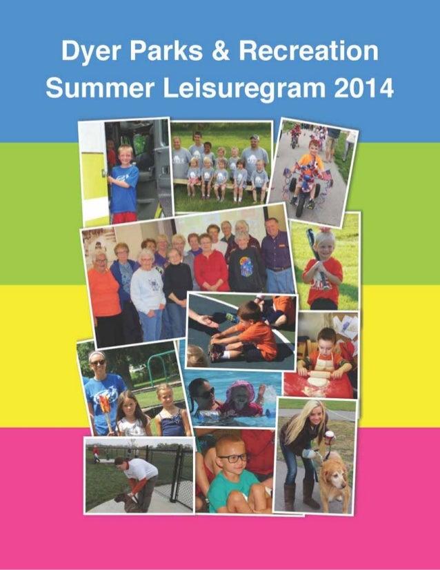 2014 Summer Leisuregram
