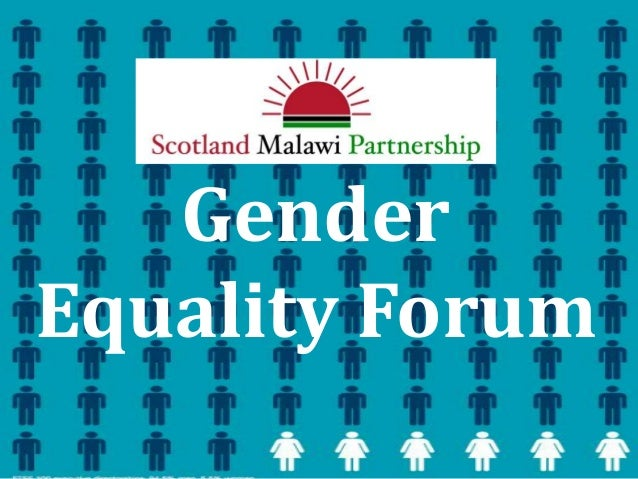 SMP Gender Equality Forum 4th February 2014