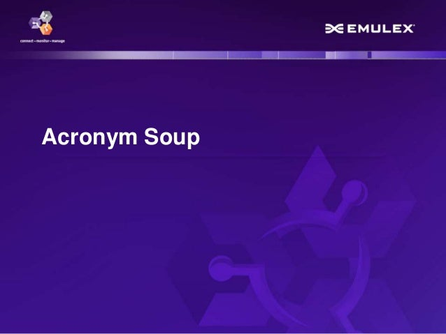 Acronym Soup – NFV, SDN, OVN and VNF