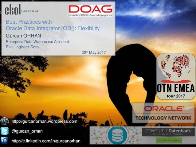 Best Practices with Oracle Data Integrator (ODI)-LAOUC Webinar at 27th Feb 2014