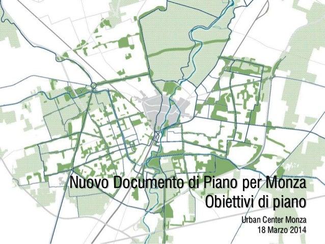 Nuovo Documento di Piano per Monza