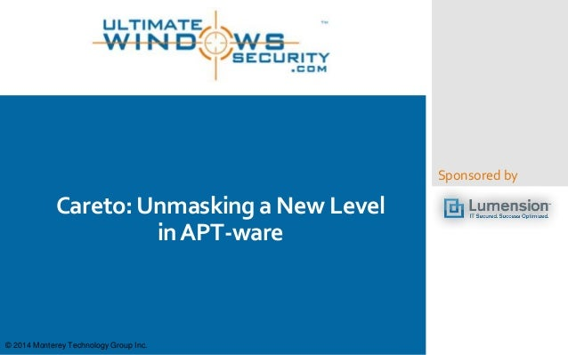Careto: Unmasking a New Level in APT-ware