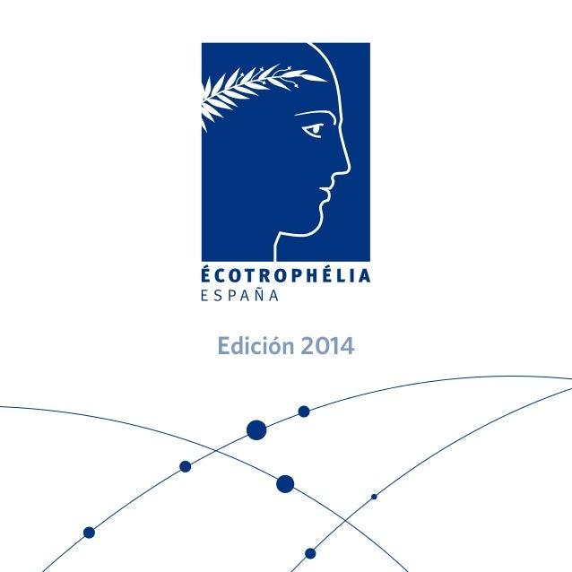 20140328 Catálogo Premios Écotrophélia 2014