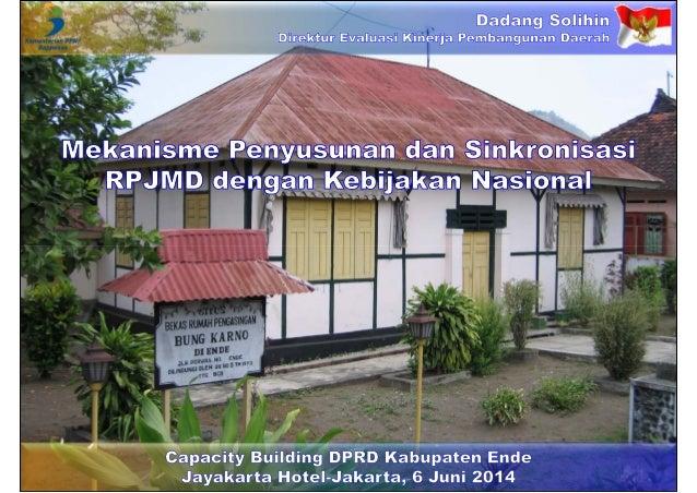 Mekanisme Penyusunan dan Sinkronisasi RPJMD dengan Kebijakan Nasional