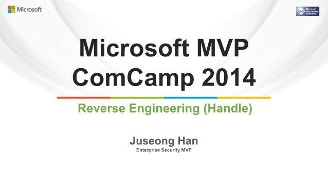 201403 microsoft mvp com camp 2014-한주성