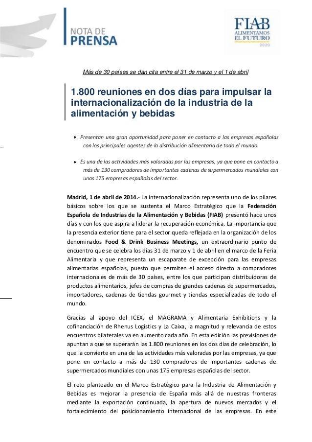 Más de 30 países se dan cita entre el 31 de marzo y el 1 de abril 1.800 reuniones en dos días para impulsar la internacion...