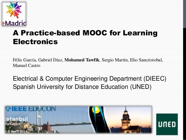 2014 04 03 (educon2014) emadrid uned a practice based mooc for learning electronics