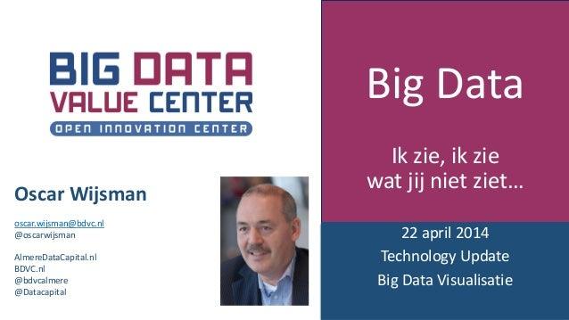 Oscar Wijsman @ Tech Update Big Data Visualisatie