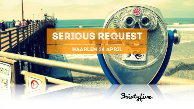 Digital minded Social Smart serious request haarlem 24 april