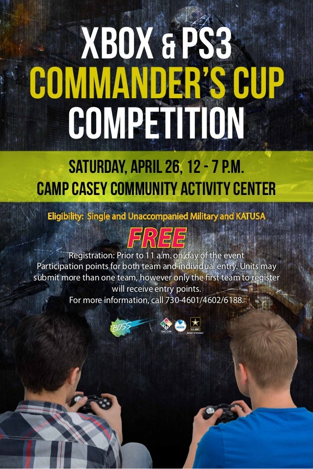 Eligibility: Single and Unaccompanied Military and KATUSA FreeRegistration: Prior to 11 a.m. on day of the event Participa...