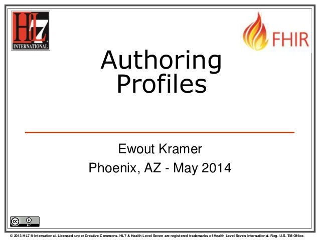 Authoring FHIR Profiles - extended version