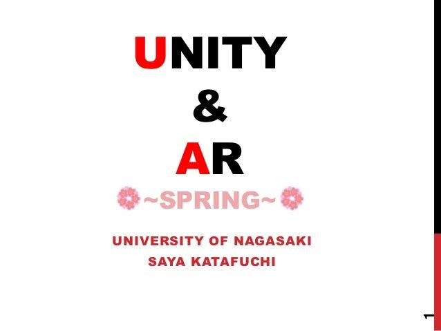 20140508 在校生向けUnity&AR講座