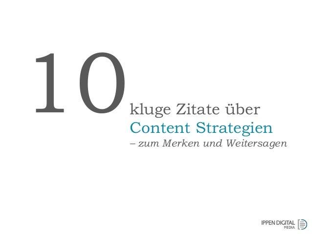 kluge Zitate über Content Strategien – zum Merken und Weitersagen 10