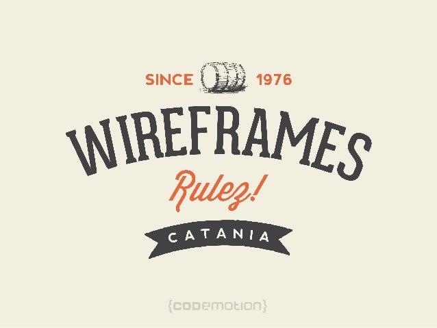 Wireframes Rulez - Santangelo