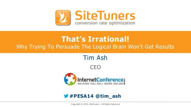PeSA Annual Internet Conference Australia 2014 - Keynote