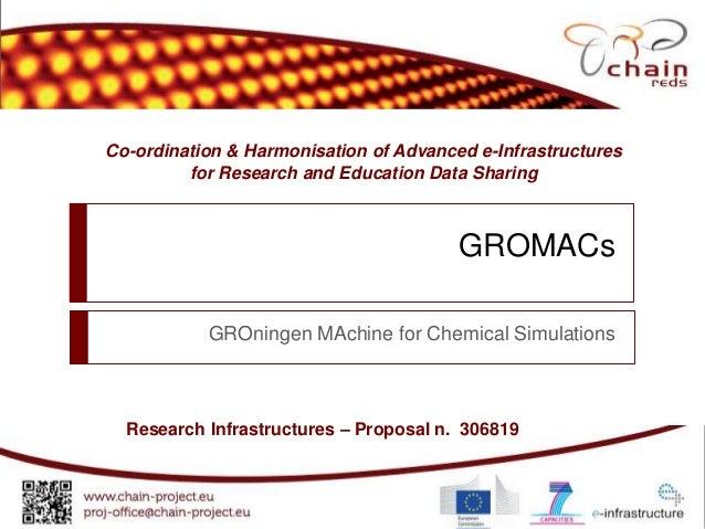 Gromacs on Science Gateway