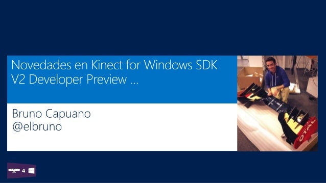 MSDN LATAM Kinect SDK V2