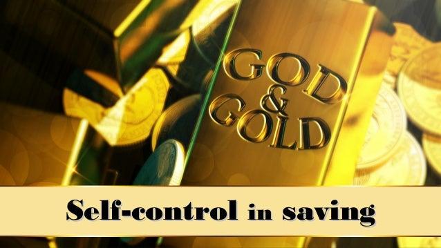 Self-controlSelf-control inin savingsaving