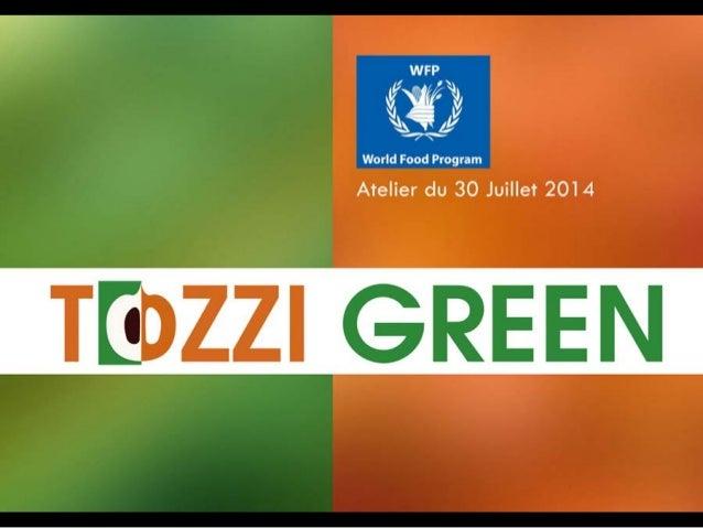 Tozzi Green - Atelier PAM Juillet 2014