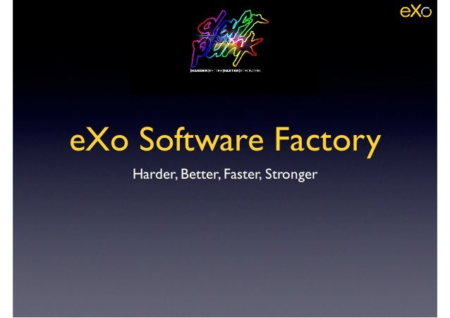 2014 August - eXo Software Factory Overview