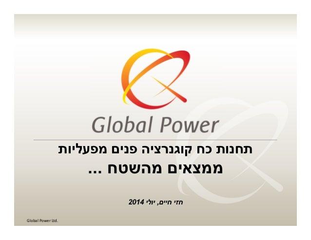 תעשיית העתיד, ישראל 2014, רופין 09.07.14