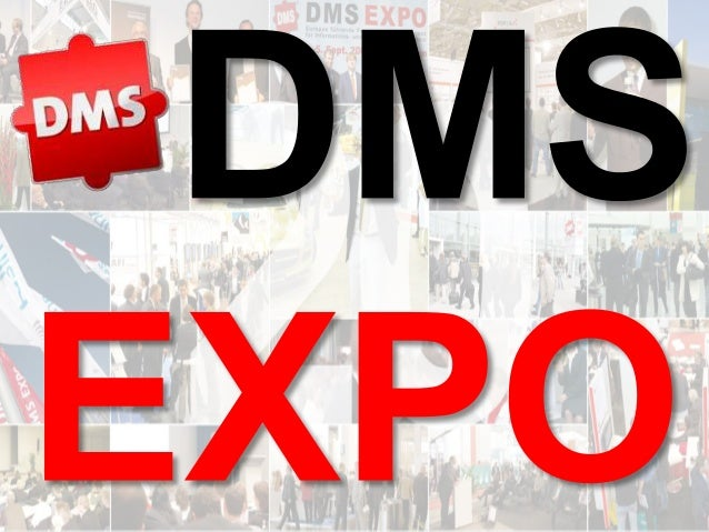DMS EXPO 2014 – Zeit für ein Jubiläum? Dr. Ulrich Kampffmeyer DMS EXPO 2014 1