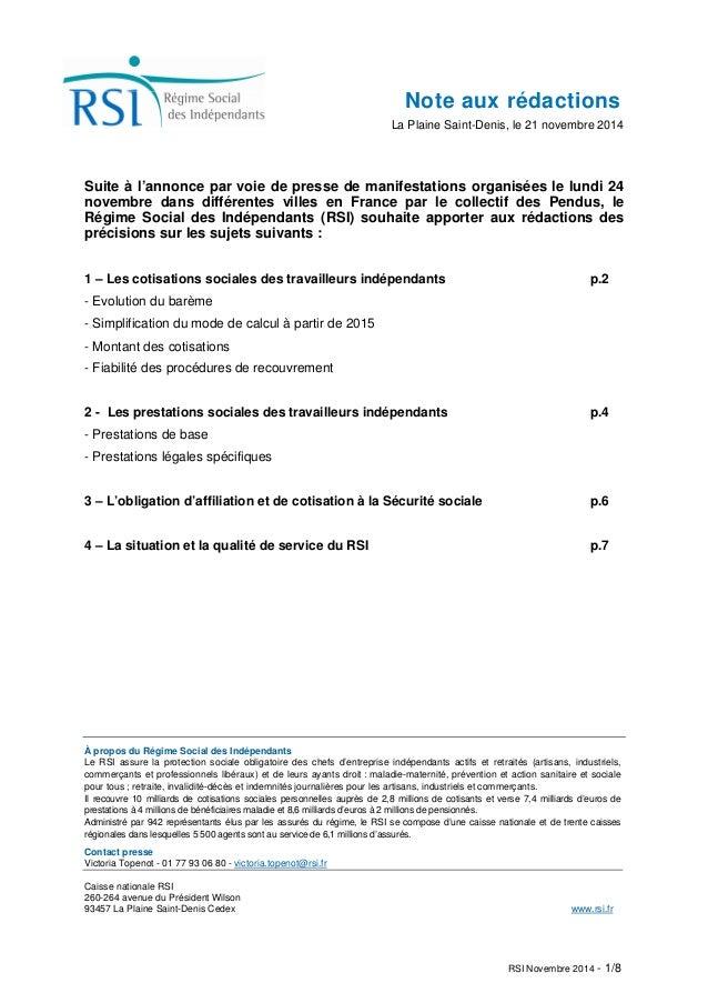 Note aux rédactions  La Plaine Saint-Denis, le 21 novembre 2014  Suite à l'annonce par voie de presse de manifestations or...