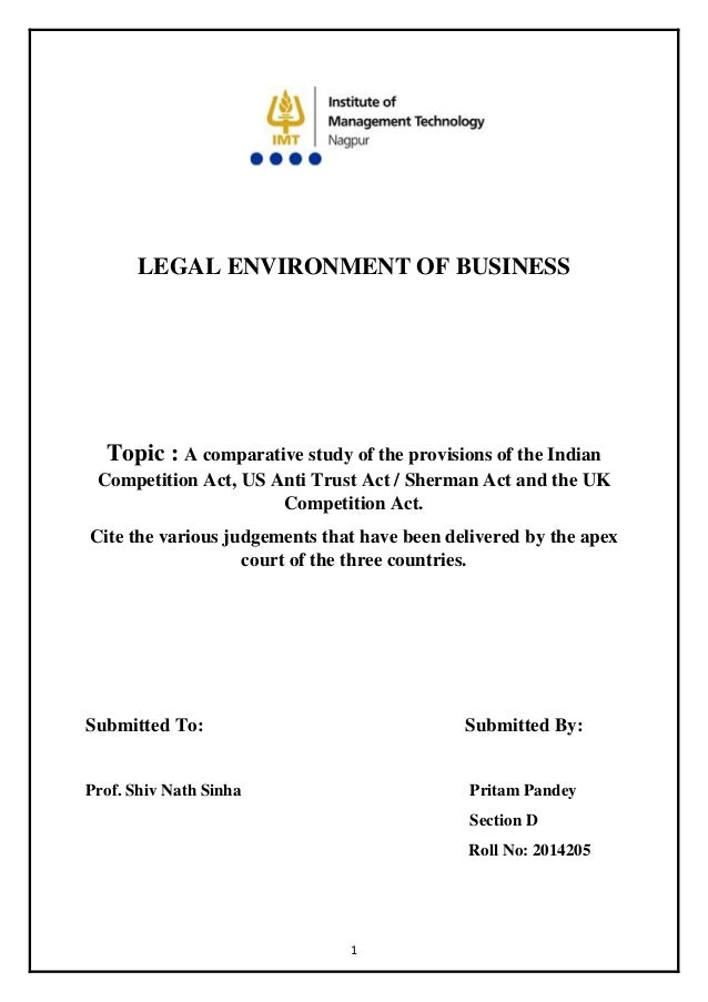 thesis on international commercial law A great selection of free law dissertation titles and ideas to help you of international commercial as subject or object of international law.