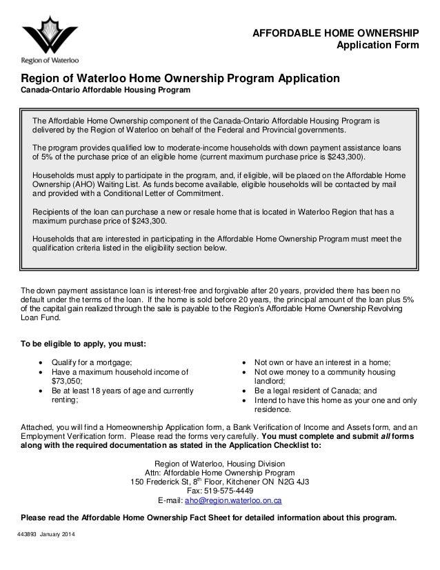 Ontario Home Ownership Savings Plan 2013 House Design Plans