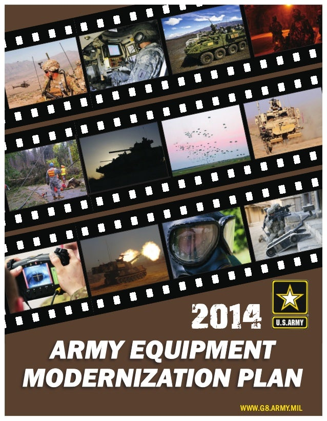 2014 Army Equipment Modernization Plan