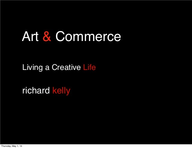 2014 art & commerce living a creative life lecture for Pittsburgh Society of Artists