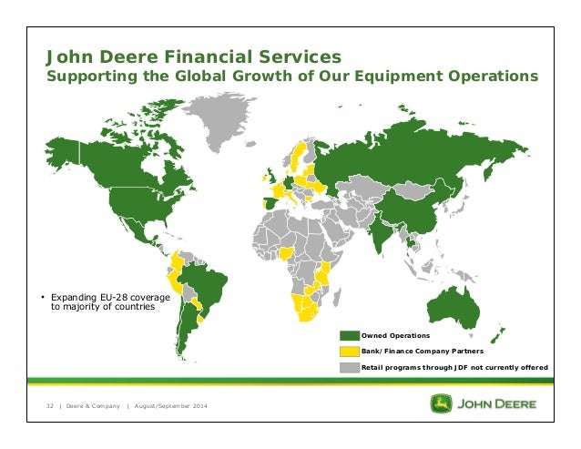 john deere & company worldwide logistics essay Learn more about our moscow mills, mo john deere dealership find our store  hours, phone number, email address, employee directory, and a map.