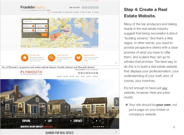 I have someone who wants a real estate website and they want to upate themselves. Any ideas?